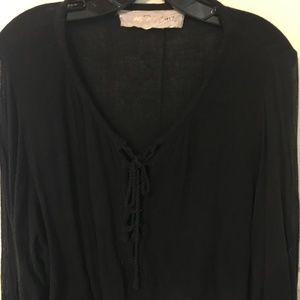 Jen's Pirate Booty blouse w/cute tie detailing S